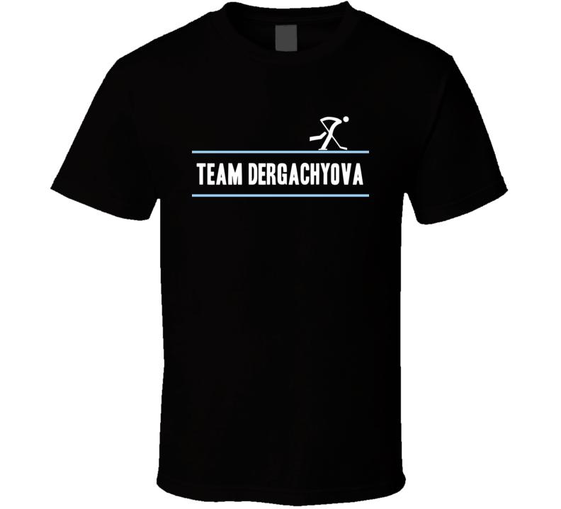 Yelena Dergachyova Olympic Athletes From Russia Team Winter Olympic Athlete Ice Hockey Fan T Shirt