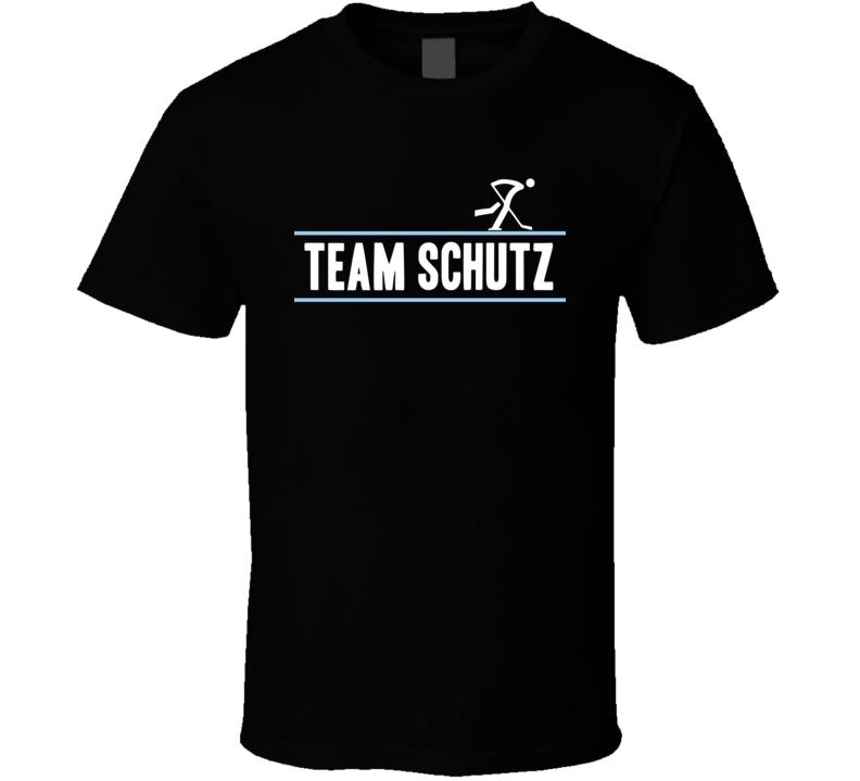 Felix Schutz Germany Team Winter Olympic Athlete Ice Hockey Fan T Shirt