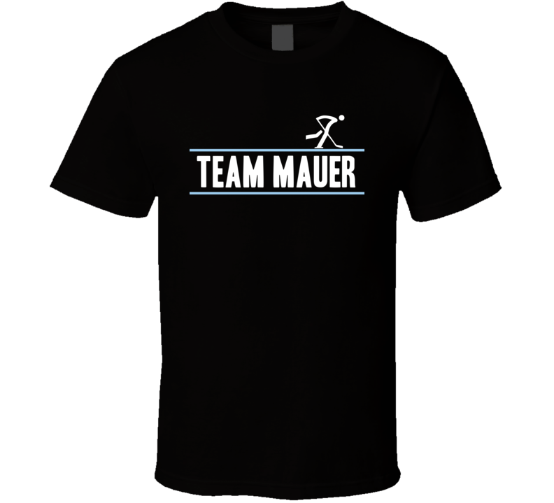 Frank Mauer Germany Team Winter Olympic Athlete Ice Hockey Fan T Shirt