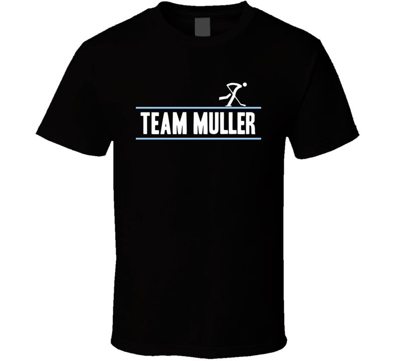Jonas Muller Germany Team Winter Olympic Athlete Ice Hockey Fan T Shirt