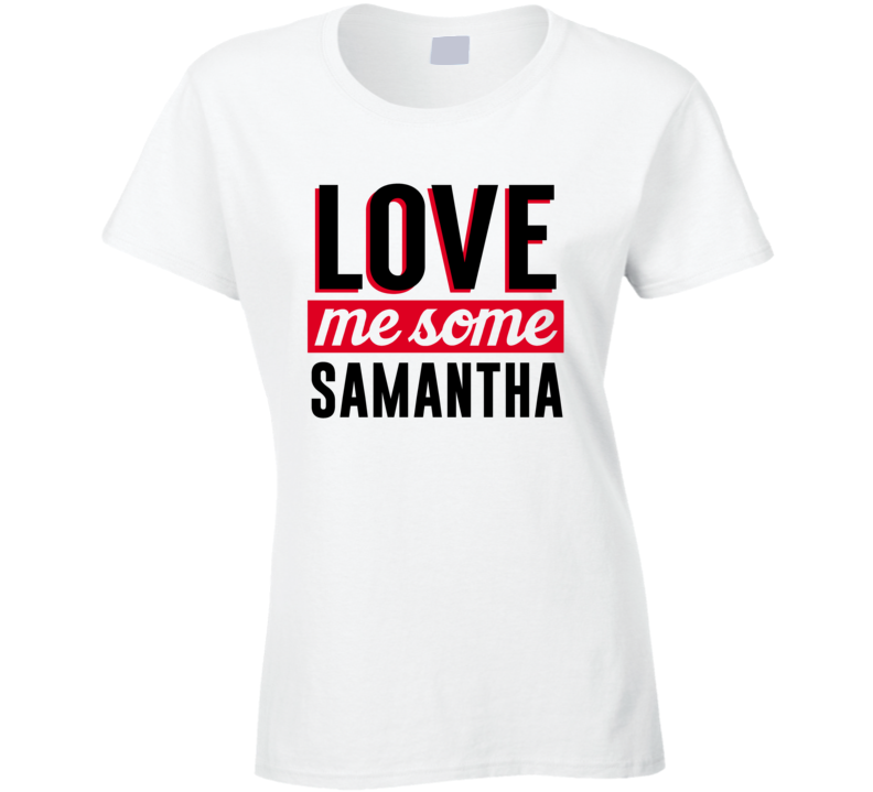 Samantha This Grandma Belongs To Custom First Name  Mother's Day Gift T Shirt