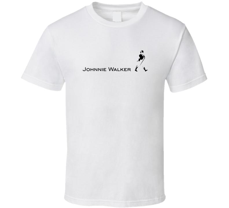 Classic Jonnie Walker Scotch Whisky T Shirt