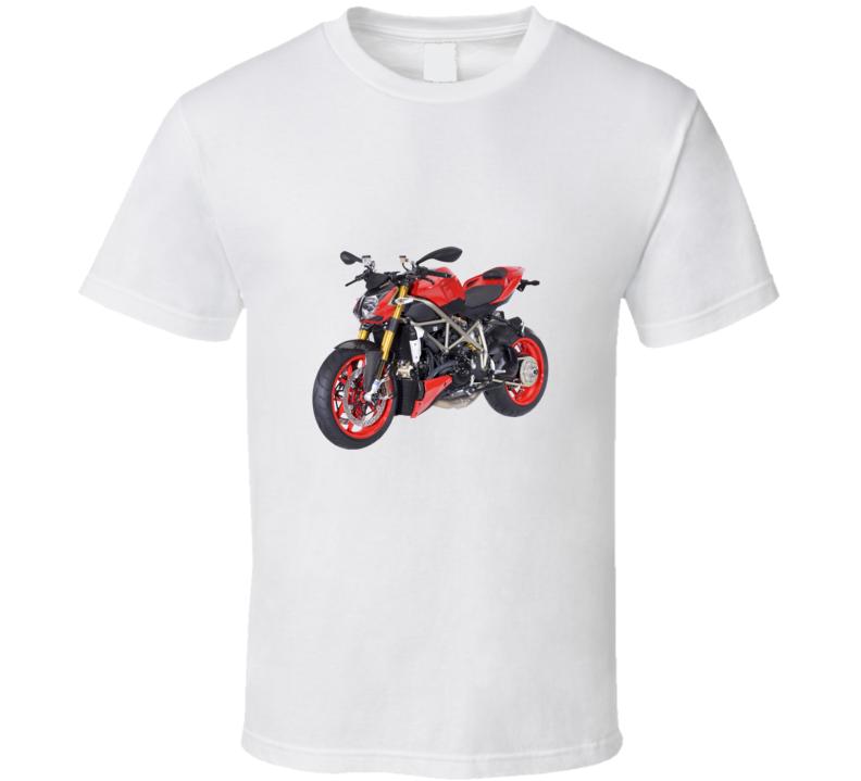 Ducati Streetfighter Motorcycle Fan T Shirt