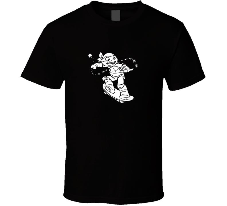 Color Me In Ninja Turtles Kids T Shirt