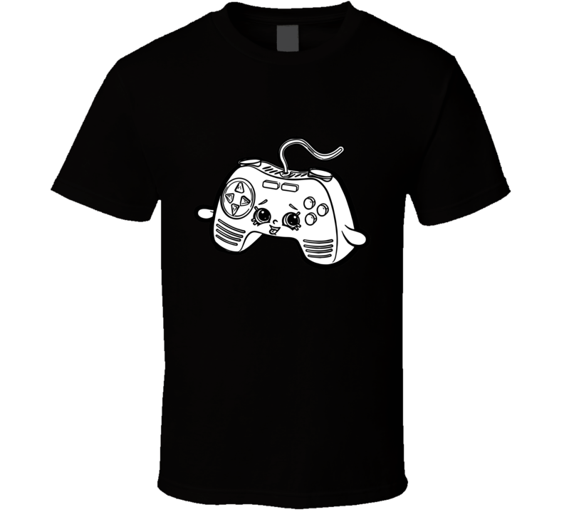 Color Me In Happy Game Controler T Shirt