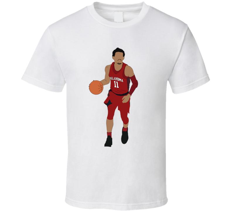 Trae Young Oklahoma Sooners Basketball Team Fan T Shirt