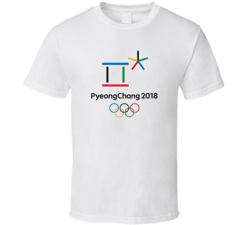 Pyeong Chang 2018 Olympics Sports Fan T Shirt