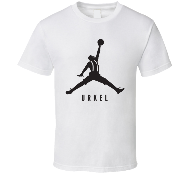 Urkel Air Jordan Parody Steve Urkel Funny Family Matters Tv Show T Shirt