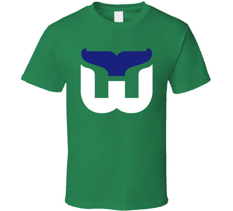 Hartford Whalers Old School Hockey Sports Fan T Shirt