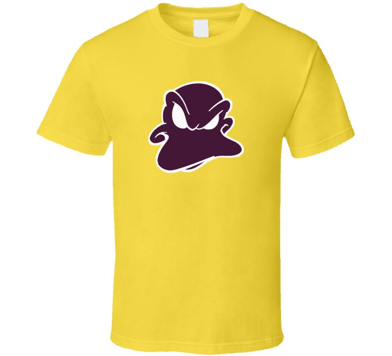 Anaheim Mighty Ducks Charlie Conway Banks Throwback Hockey Sports Fan Logo T Shirt