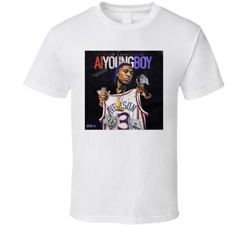 Nba Youngboy Ai Youngboy Type Beat Rap Mixtape Music T Shirt