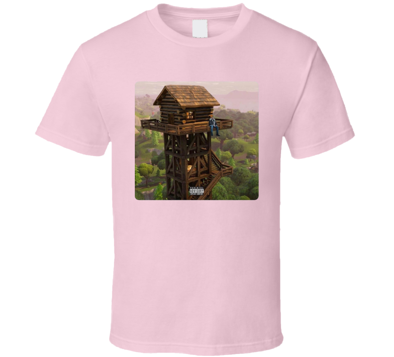 Fortnite Loot Lake Tilted Towers Drizzy Video Game T Shirt