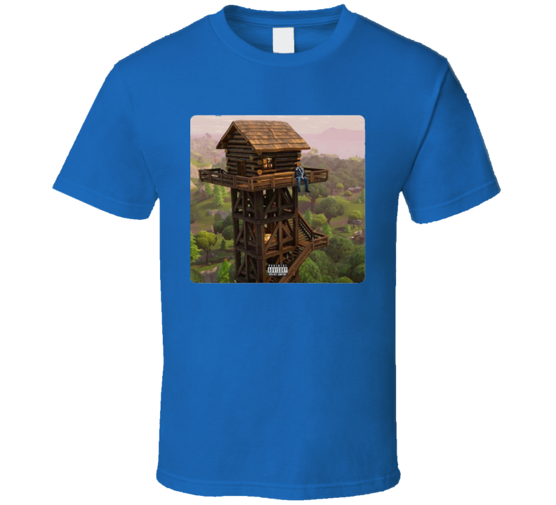 Fortnite Battle Royal Drizzy Loot Lake Tilted Towers Video Game T Shirt