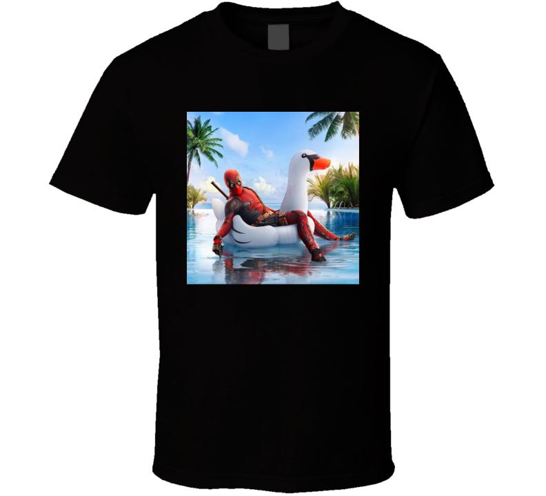 Deadpool 2 Marvel Comics X-force Cable X-men Movie Fan  Domino Colossus Teenage Warhead Weasel Comedy Parody T Shirt