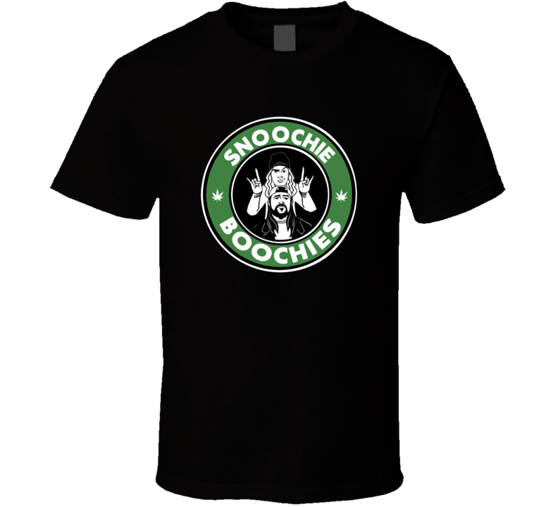 Snoochie Boochies Jay And Silent Bob Movie Funny Parody Weed Smoke Blunts High Times 420 Marijuana Cannabis T Shirt