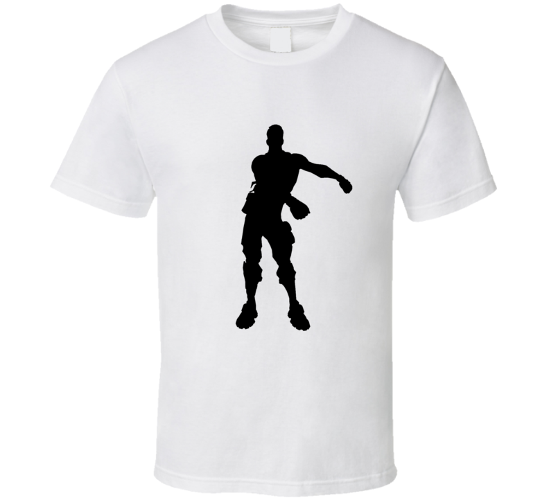 Fortnite Victory Dance Battle Royale Video Game Fan Storm Shooting Cartoon Land At Tilted Towers Loot Lake Dusty Depot Snobby Shores Lucky Landing Cool T Shirt