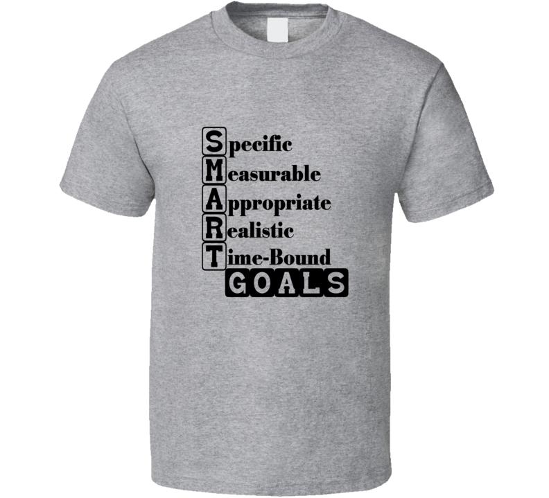 Goals Inspirational Coaching Teacher Student T Shirt