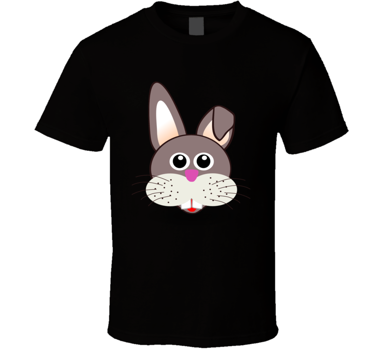 Easter Bunny Head T Shirt