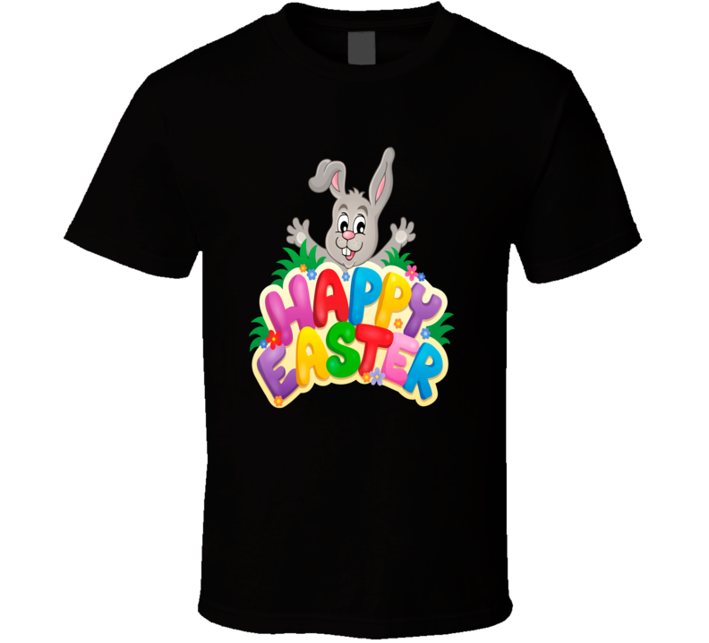 Happy Easter Bunny T Shirt