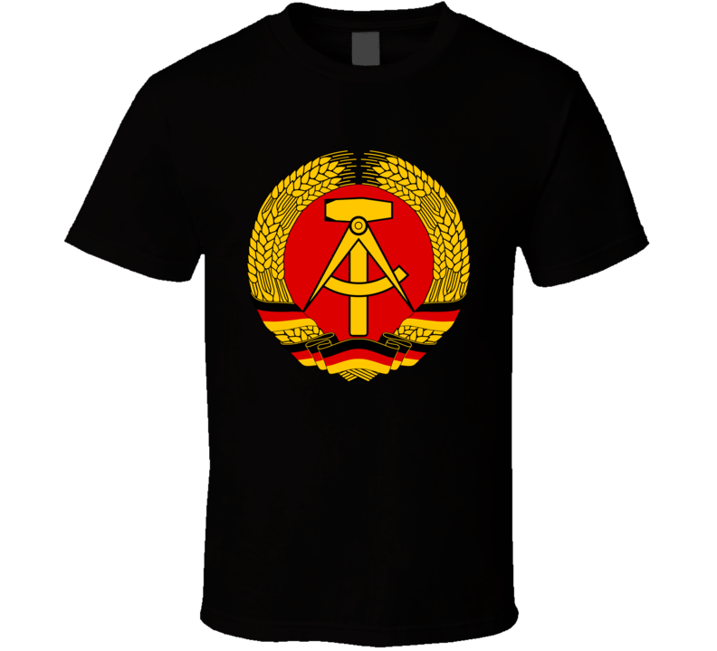 Coat Of Arms Eastern Germany T Shirt