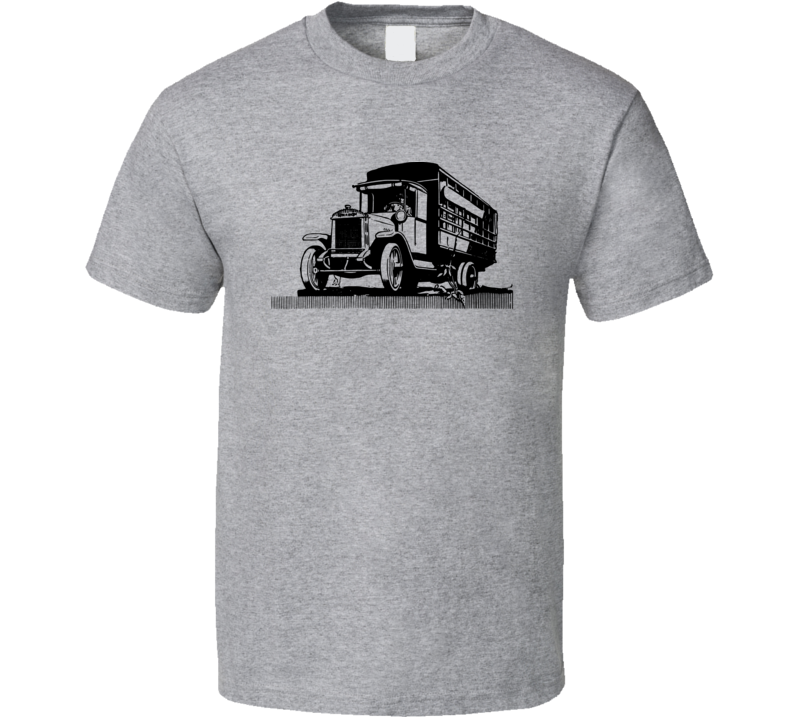 Old Style Truck Vehicle Antique Drive T Shirt