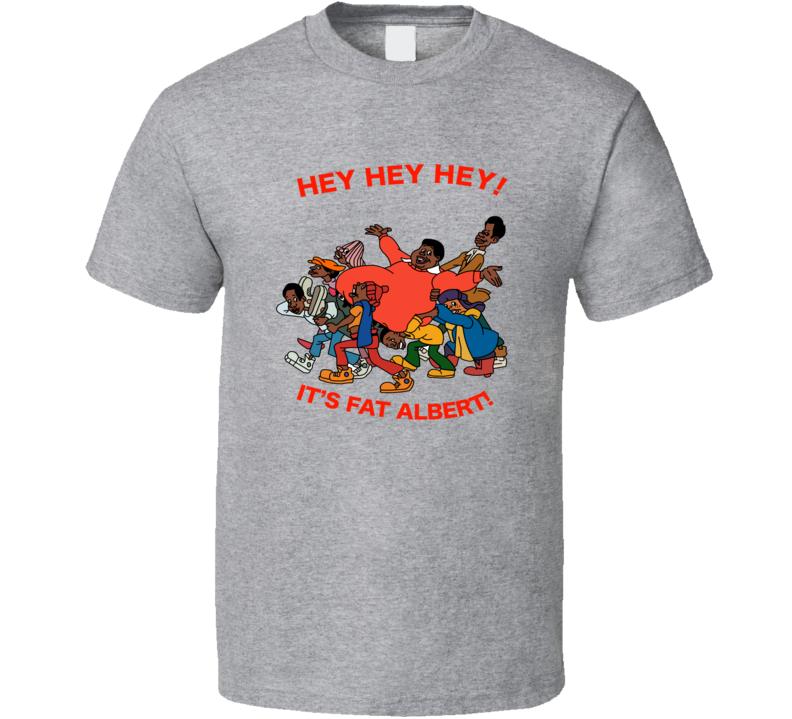 Fat Albert Gang Hey Hey Its Fat Albert T Shirt