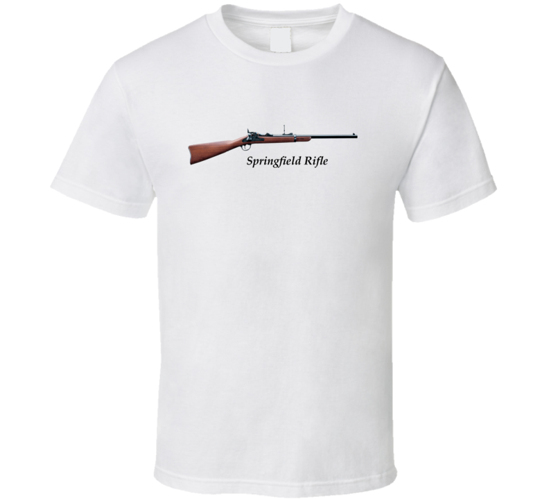 Springfield Breach Loading Rifle T Shirt