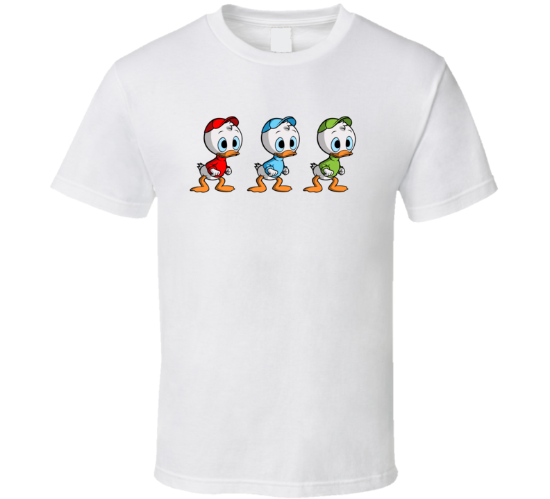 Huey, Dewey And Louie Ducks T Shirt