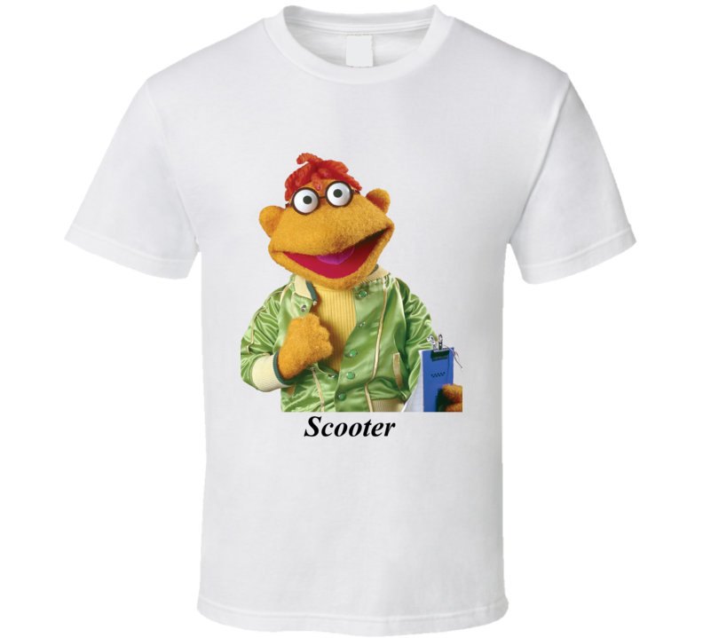 Scooter From The Muppets T Shirt