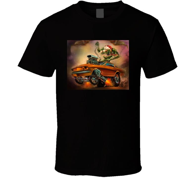 Rat Fink Ford Mustang T Shirt