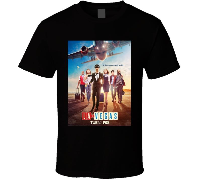 La To Vegas Tv Show Poster T Shirt