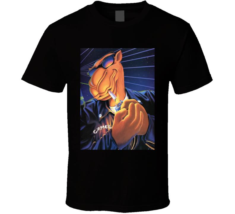 Cool Dude Joe Camel Cigarette Logo T Shirt