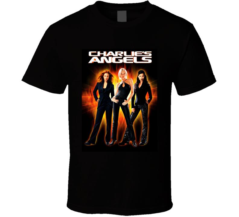 Charlie's Angels Full Throttle Movie Poster T Shirt