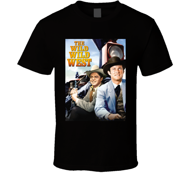 The Wild Wild West Tv Series Poster T Shirt