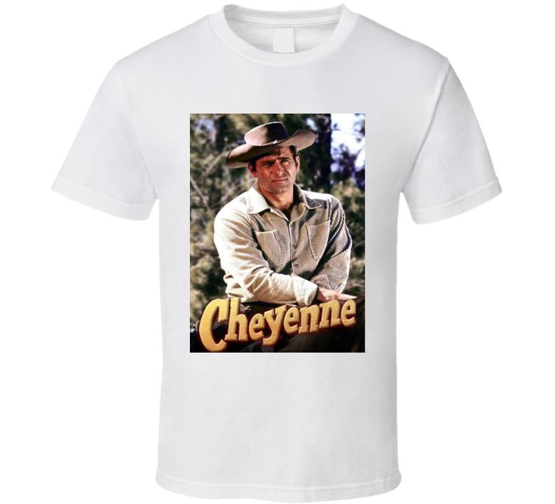 Cheyenne Western Tv Series With Clint Walker T Shirt