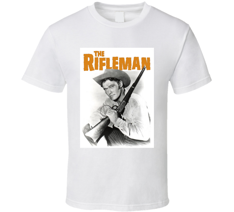 The Rifleman Chuck Connors T Shirt