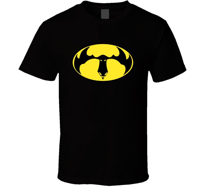 Bat Moose Logo On Black T Shirt
