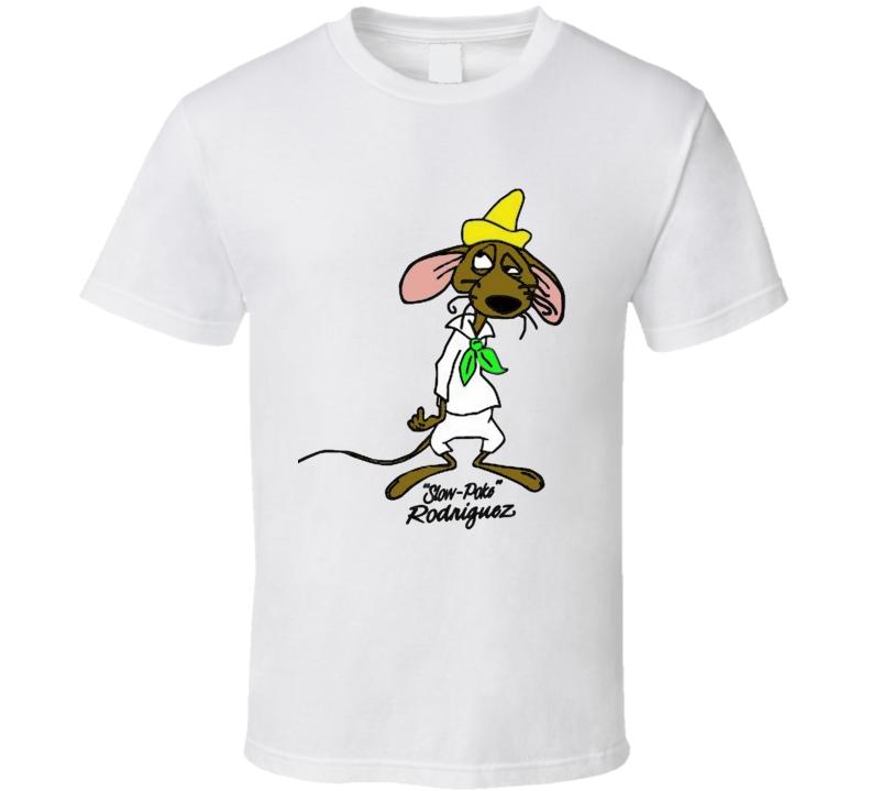 Slow Poke Rodriguez Cartoon T Shirt