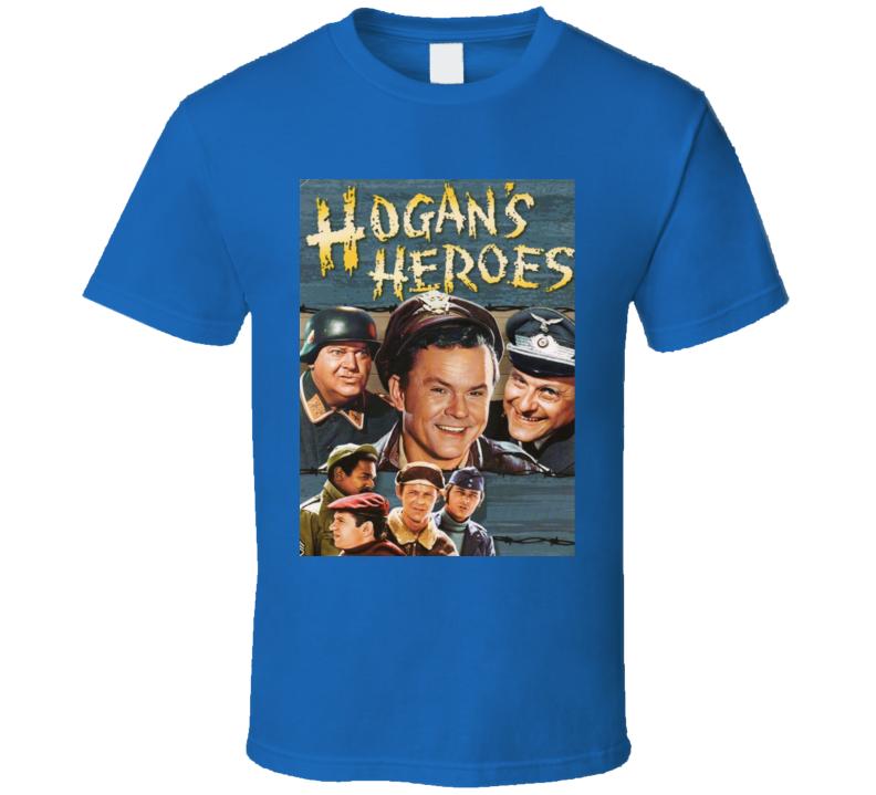 Hogan's Heroes Retro Tv Show Poster T Shirt