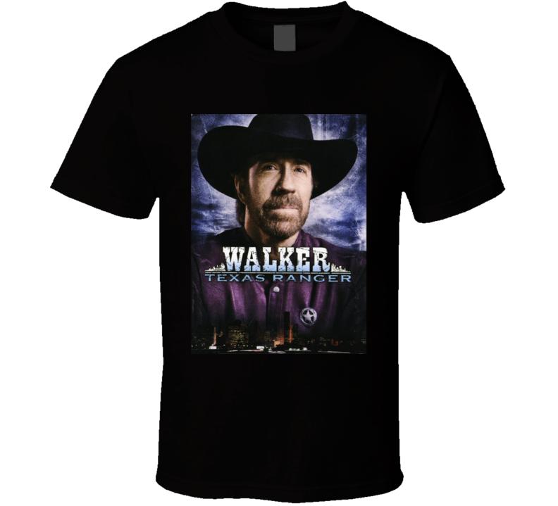 Walker Texas Ranger Tv Series Poster T Shirt