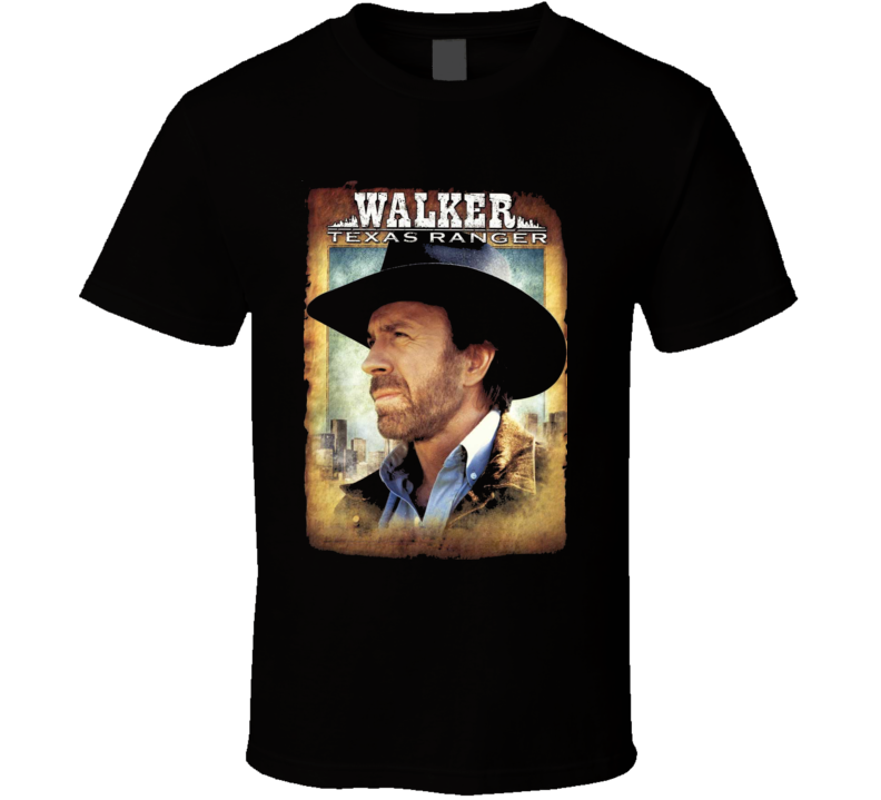 Walker Texas Ranger Tv Series Drama T Shirt