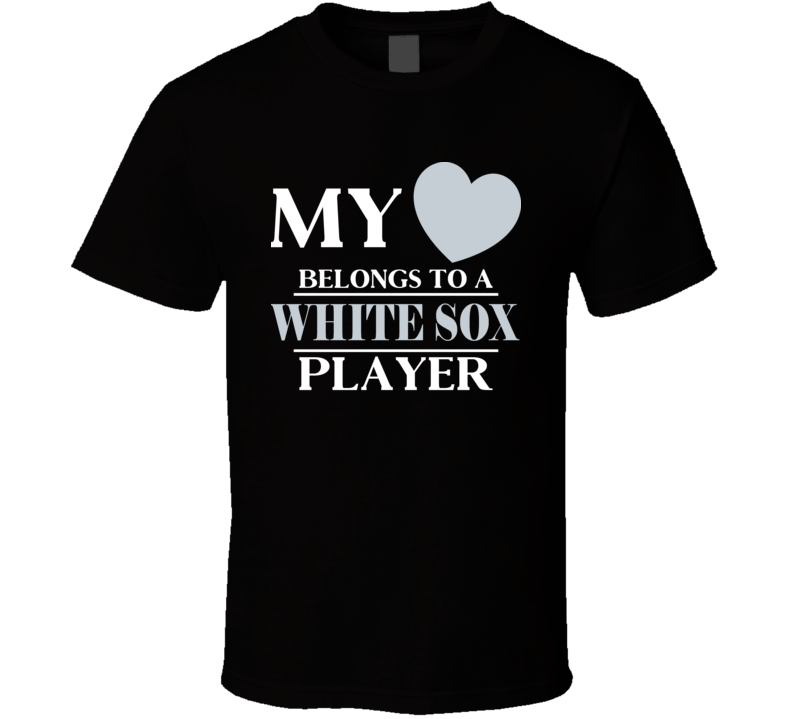 My Heart Belongs To A Chicago W Player Sports Team Fan T Shirt