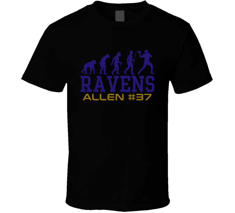 Evolution Javorius Allen Baltimore Football Team Fan T Shirt