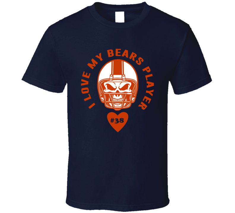 I Love My Player Adrian Amos Chicago Football Team Fan T Shirt