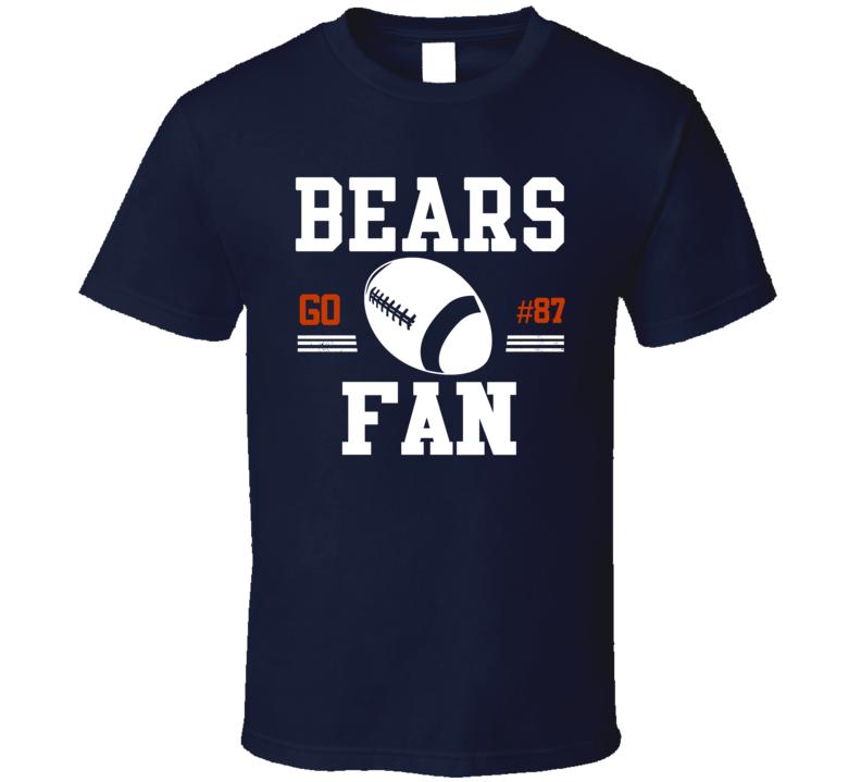 Go Player Adam Shaheen Chicago Football Team Fan T Shirt