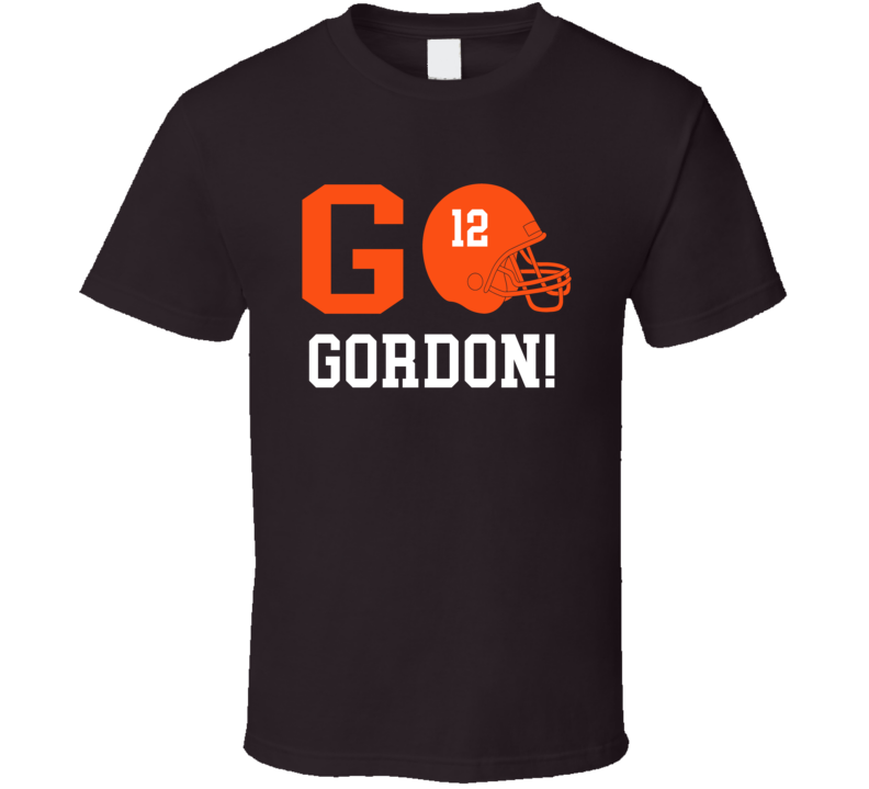 Go Player Josh Gordon Cleveland Football Team Fan T Shirt