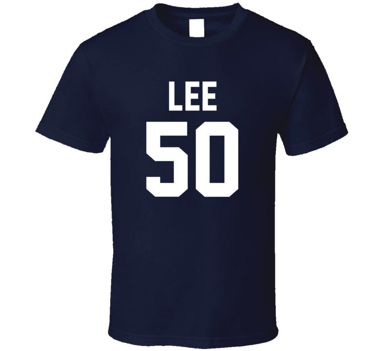 Jersey Back Sean Lee Dallas Football Team Fan For Navy T Shirt
