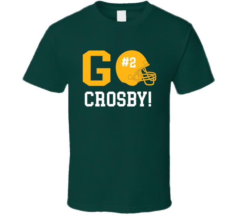 Go Player Mason Crosby Green Bay Football Team Fan T Shirt