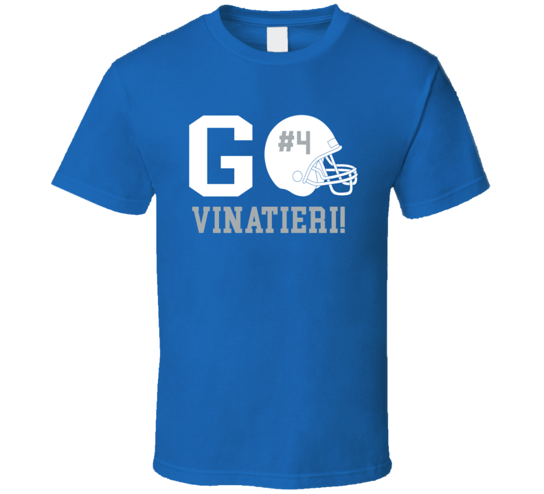 Go Player Adam Vinatieri Indianapolis Football Team Fan T Shirt