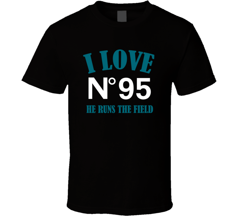 I Love Abry Jones Jacksonville Football Team Fan T Shirt